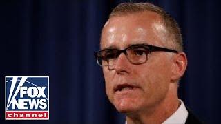 FBI\'s Andrew McCabe fired, DOJ releases statement