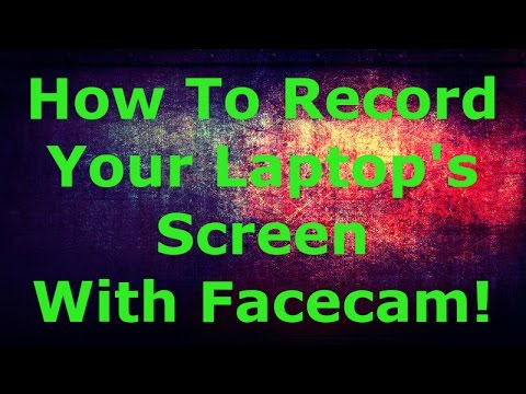 How To Record Your Laptops Screen With Facecam! (FREE)