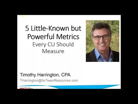 5 Little-Known but Powerful Metrics Every Credit Union Should Measure