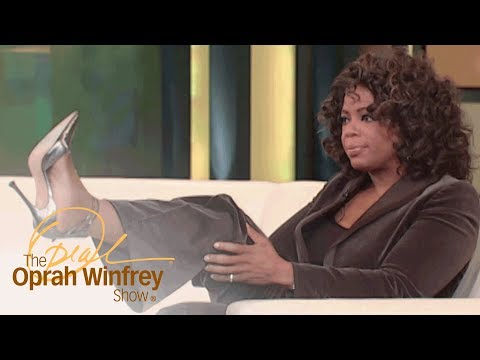 Oprah Shows Off a Pair of Statement Heels | The Oprah Winfrey Show | Oprah Winfrey Network
