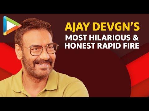 Ajay Devgn: Chhupa Rustom- Akshay Kumar, Jhansi Ki Rani- Kajol | Rapid Fire | De De Pyaar De Mp3
