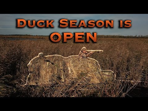 Tips And Tricks For Duck Hunting  (early Fall Decoy Set-ups)