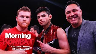 Canelo Alvarez & Ryan Garcia Golden Boy Beef | MORNING KOMBAT