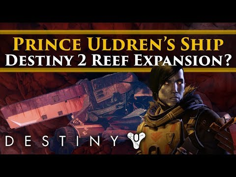 Destiny 2 Lore - Prince Uldren's Crashed ship & the potentia