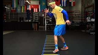 fastest Feet In Boxing: LOMACHENKO Footwork Drill  Ломаченко. Самые быстрые ноги в боксе