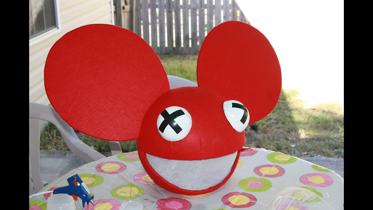 halloween project deadmau5 head - Deadmau5 Halloween Head