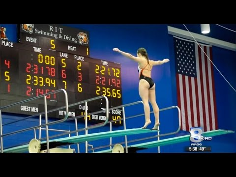 RIT on TV: NTID diver heads to 2016 NCAA Championships