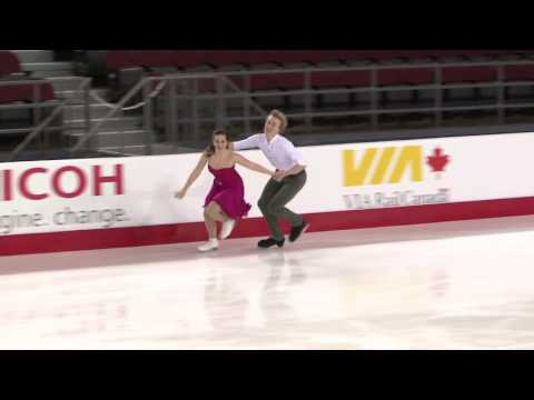 BEDARD | WADDELL - Junior Short Dance - CTNSC17