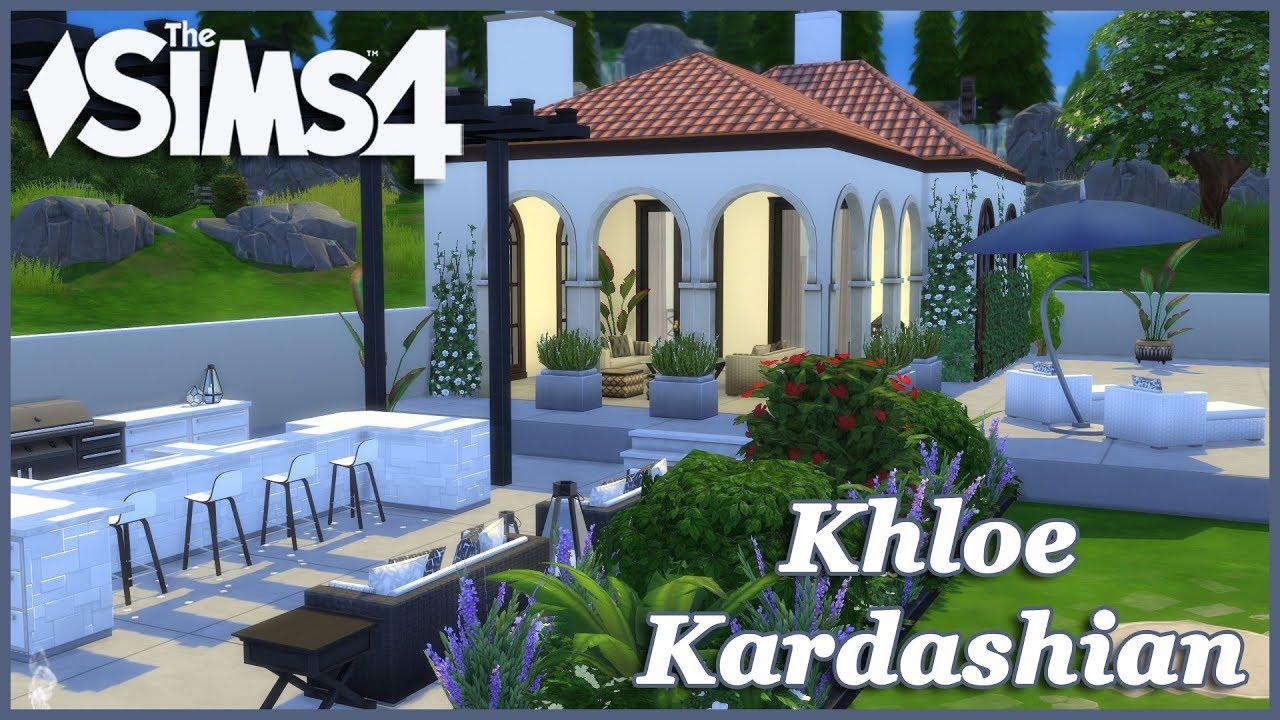 The sims 4 khloe kardashian house build part 5 youtube for Decoracion casa kim kardashian