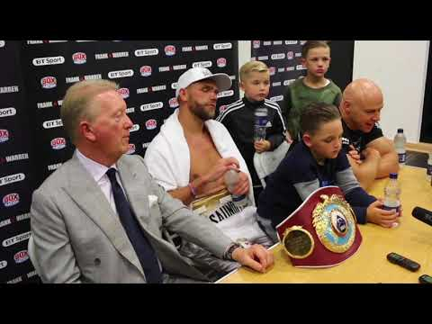 'MY SON OVER STEPPED THE MARK' - BILLY JOE SAUNDERS ON HIS SON PUNCHING MONROE JR IN THE BALLS