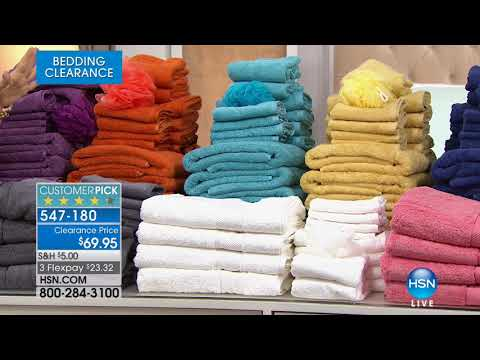 HSN | Bedding Clearance up to 60% Off 02.21.2018 - 07 PM