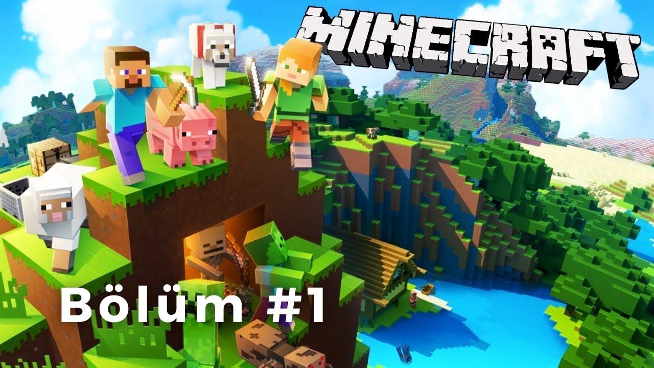 Minecraft Hardcore Survival   Ev yaptık   Bölüm 1