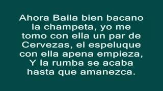 La Invite A Bailar-Kevin Florez(Lyrics)