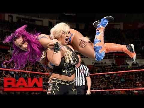 Sasha Banks vs. Dana Brooke: Raw, March 13, 2017