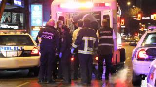 Man Shot Dead In Subway Restaurant(At 8:30 an East Indian man was shot near the corner of Hornby and Helmcken in Vancouver. He collapsed in a Subway restaurant where paramedics and VFD ..., 2011-02-18T14:21:09.000Z)