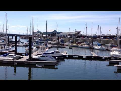 Aberystwyth - Marina & Harbour, August 8th, 2015. Video 1 of 2