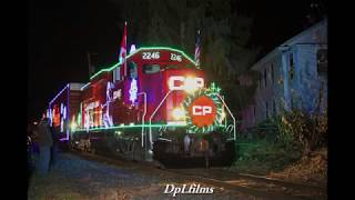 Chasing the 2017 Canadian Pacific Holiday Train!