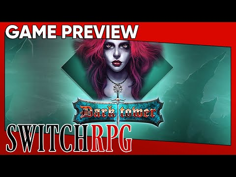 SwitchRPG Previews - Dark Tower: RPG Dungeon Puzzle - Nintendo Switch Gameplay