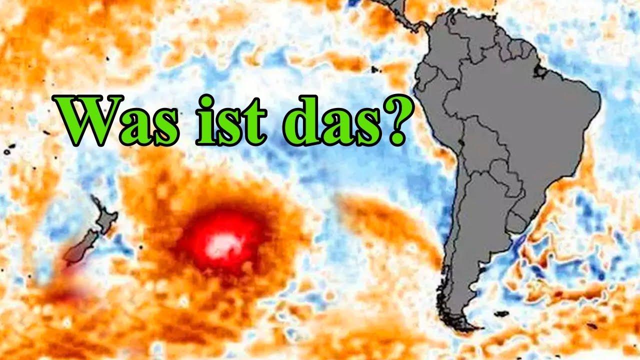 Etwas Gewaltiges Zieht Nach Südamerika Und Lässt Experten Ratlos Zurück