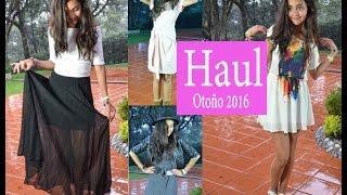 HAUL - COMPRAS OUTFITS OTOÑO 2016 Xime Ponch V119