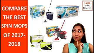 2017-2018 Best Spin Mop Review and Comparison
