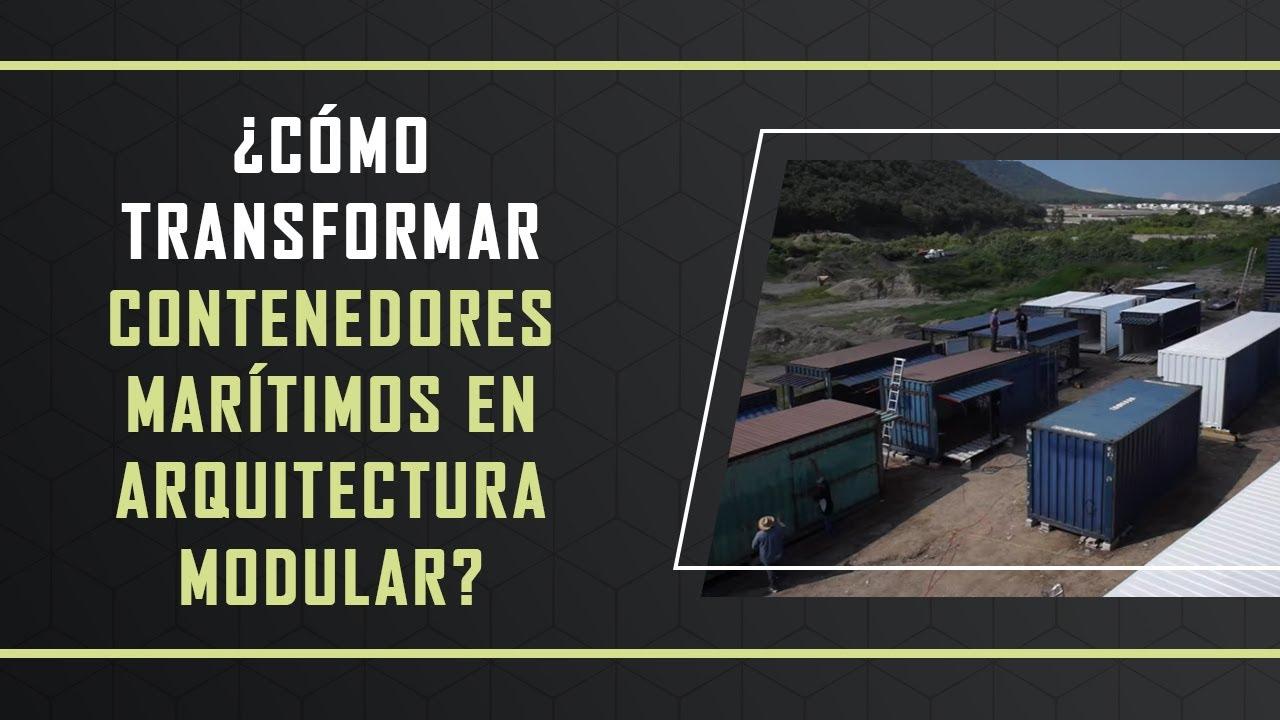 c mo transformar contenedores mar timos en arquitectura ForArquitectura Contenedores Maritimos