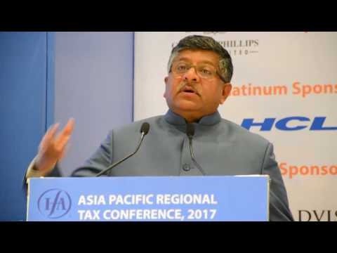 Addressed the Asia Pacific Regional Tax Conference 2017