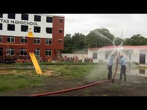 Fire engine at Shiksha Veritas High School(2)