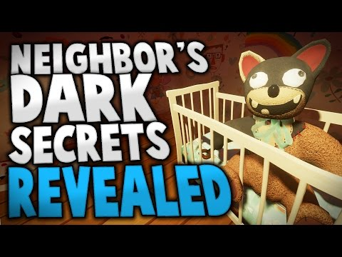 Hello Neighbor - NEIGHBOR'S SECRETS REVEALED (Hello Neighbor Alpha Gameplay Ending)