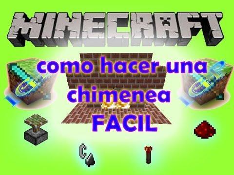 Como hacer una chimenea en minecraft youtube - Como se construye una chimenea ...