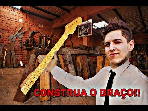 Vídeo 12 - COMO FAZER UM BRAÇO DE GUITARRA PT.1