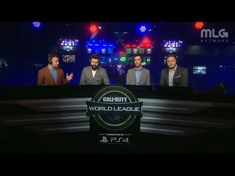 Heretics vs OpTic Gaming | CWL Atlanta Open 2018 | Alpha Stream | Day 2