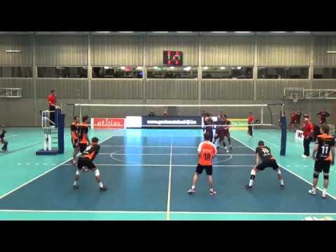 VDK Gent Heren vs. Topvolley Callant Antwerpen