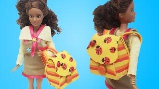 Video Barbie Bebek Buse için Okul Çantası Tasarımı   Oyuncak Butiğim download MP3, 3GP, MP4, WEBM, AVI, FLV November 2017