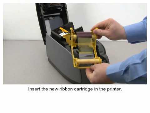 Zebra ZXP Series 3 Printer - Loading Ribbon