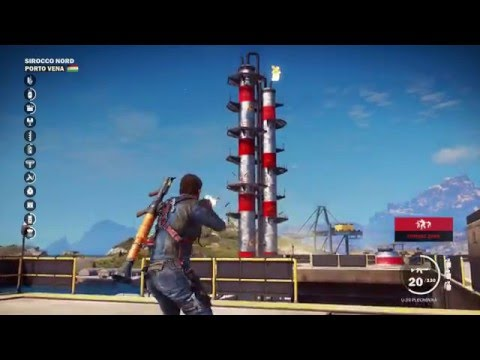 Just Cause 3 - Huge Military Base Liberation