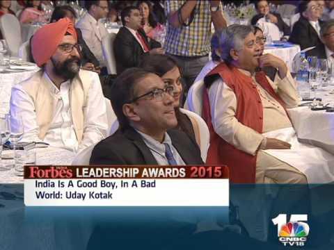 Forbes India Leadership Awards: Uday Kotak & Arundhati Bhattacharya 1