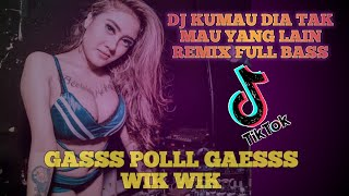 Download DJ KUMAU DIA-ANDMESH KAMALENG TIK TOK-REMIX FULL BASS 2020