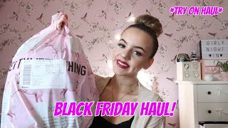 Black Friday Try On Haul! PLT, Victoria Secret...