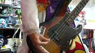 私の一番好きなバンド、FANATIC◇CRISISの曲をベースの練習がてらコピー...