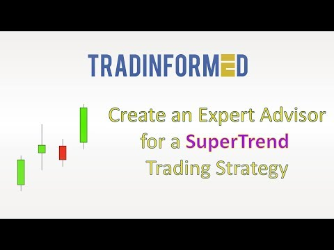 How to Create an Expert Advisor for a SuperTrend Trading Strategy