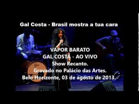 GAL COSTA - VAPOR BARATO   AO VIVO EM BH