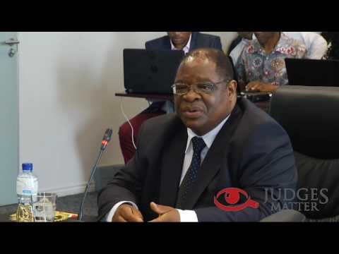 JSC interview of Judge Zondo for the Constitutional Court Deputy Chief Justice (Judges Matter)