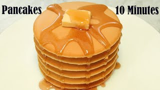 How to Make Pancakes at Home  Easy Pancake Recipe