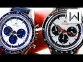 OMEGA SPEEDMASTER CK2998 MINI-VERSUS: Moonwatch Limited Edition - 2016 Blue vs. 2018 Panda