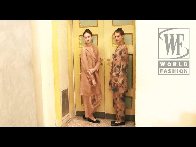 Uma Wang Spring-Summer 2016 Milan Fashion Week