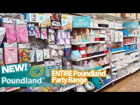 🔴 REQUESTED - ENTIRE Party Range 🔴 POUNDLAND SHOP WITH ME ♡ Poundland shopping March 2020