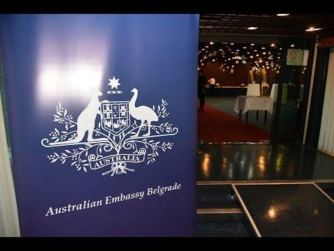 Australian Embassy Welcome Sydney Dance Company