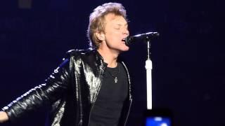 Bon Jovi Amen Toronto November 1, 2013 Air Canada Centre