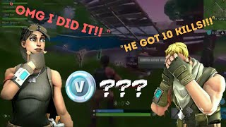 I WON FREE V-BUX IN FORTNITE!?!?!? (FBR)